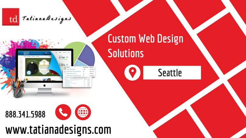 Seattle Custom Web design Solutions